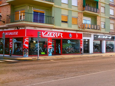 Bicycle multi store with Specialized, Cube and MMR bikes